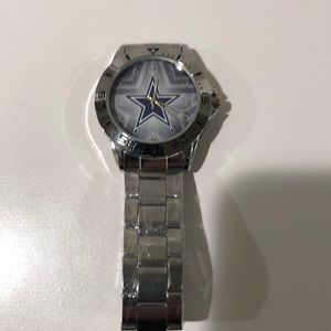 Dallas Cowboys Stainless Steel Analogue Watch NWT